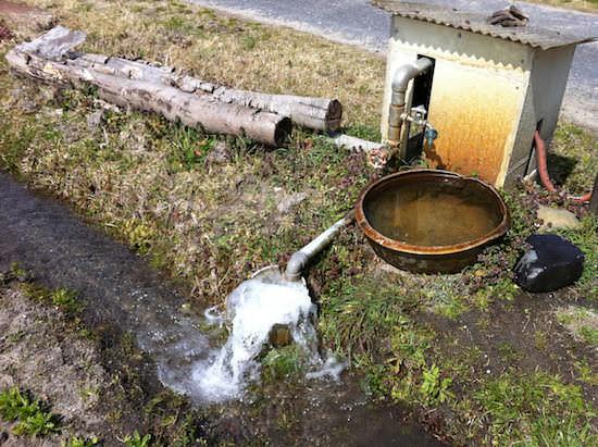地下水汲み上げポンプ