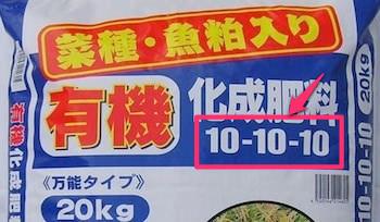 肥料の共通単位「NPK」