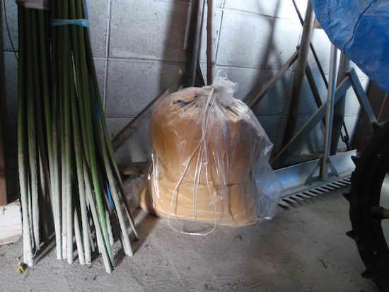 米ぬかボカシ肥の自作中
