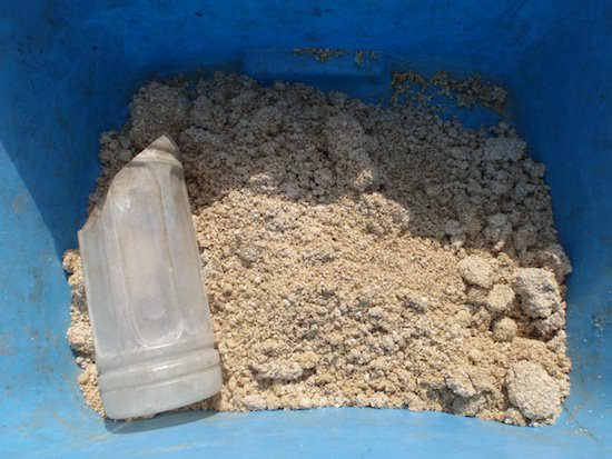 米ぬかボカシ肥