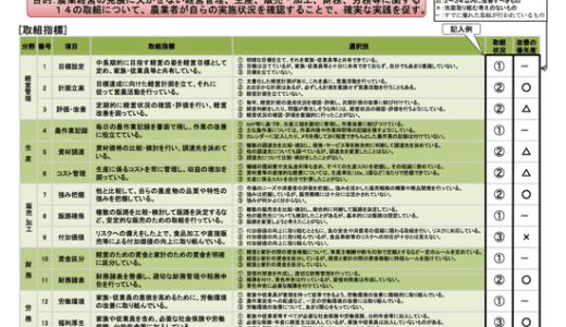 農業経営状況を自己チェック「新たな農業経営指標(農水省)」