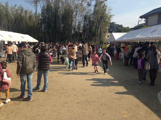 京田辺市 薪区文化産業祭