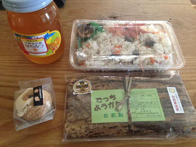 京田辺特産品、薪能、でっち羊羹