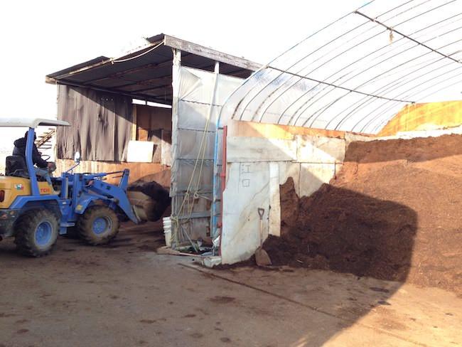 発酵牛糞肥料販売所