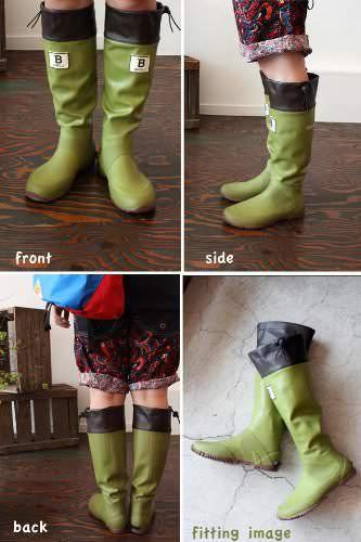 日本野鳥の会バードウォッチング長靴(メジロ)