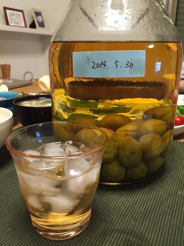 手作り梅酒(1年もの)