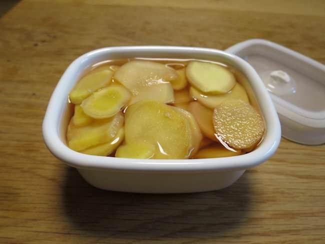漬ける - 新生姜の甘酢漬けの作り方