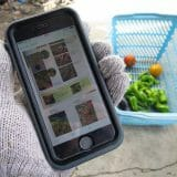 農作業中に汚れないiPhoneケース