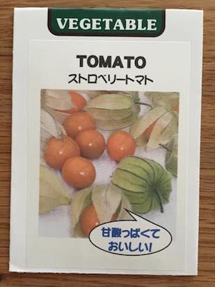 食用ほおずき(ストロベリートマト)の種