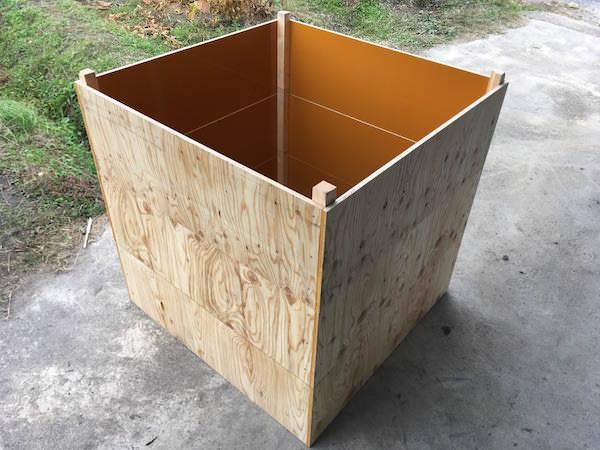 3段重ね堆肥枠