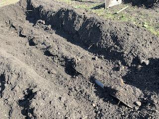 クレバーパイプを掘り起こす
